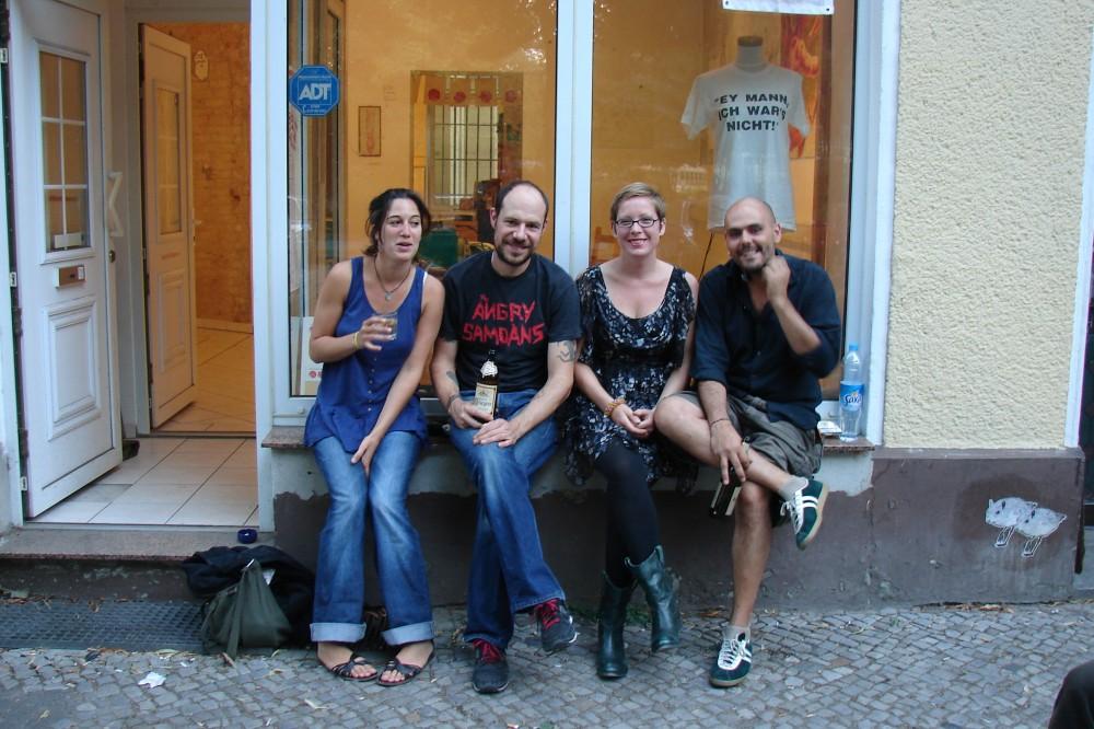 Margot Point, Mike Pritchard, Ramona Taterra, Jorge Cruz