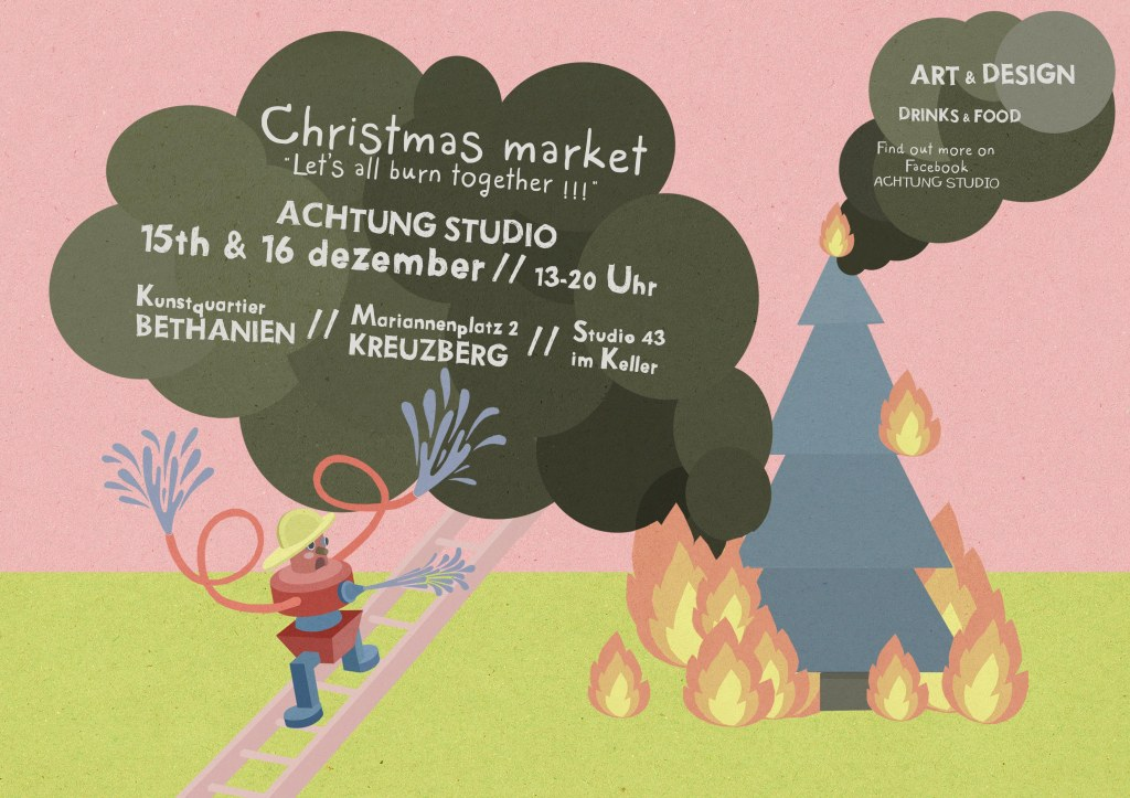 christmas market 2012 // Illustration: Sonia Klajnberg