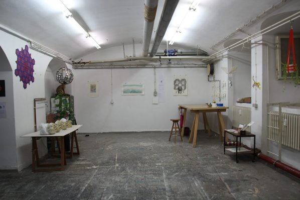 Achtung Studio im Kunstquartier Bethanien