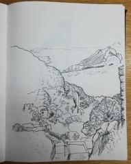 Oberhalb von Langarda