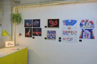 Atelier und Arbeiten von Sonia Klajnberg