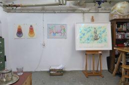 Atelier und Arbeiten von Ramona Taterra